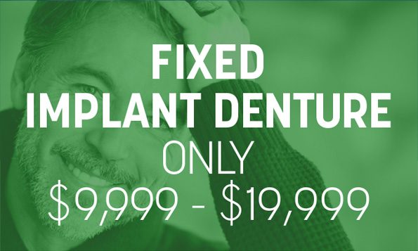 special offers for fixed implant denture