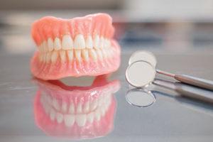 pair of full dentures